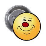 Smug Smiley Face Grumpey Buttons