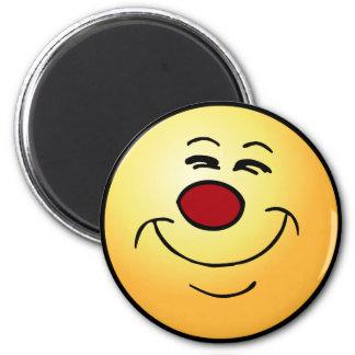 Smug Smiley Face Grumpey Magnets