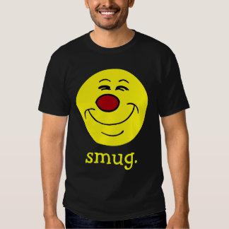 Smug Smiley Face Grumpey T-Shirt