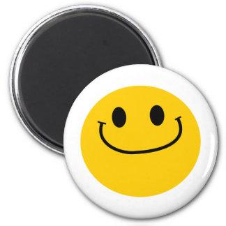 Smug smiley magnets