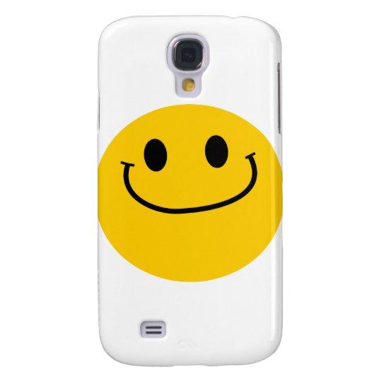 Smug smiley samsung s4 case