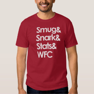 Smug.Snark.Stats.WFC Remera