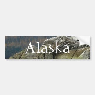 Smuggler's Cove Shoreline; Alaska Souvenir Bumper Sticker