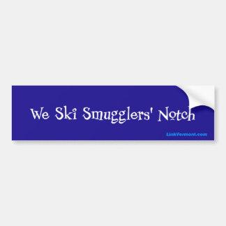 Smugglers' Notch Bumper Sticker