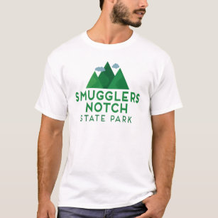 eaa8a898 Smugglers Notch State Park T-shirt - Mountain