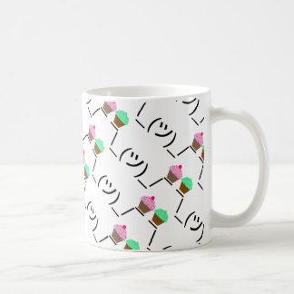 Smugshrug Holding Cupcakes Coffee Mug