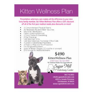 SMVC Puppy Kitten Wellness Plan Postcard 2016