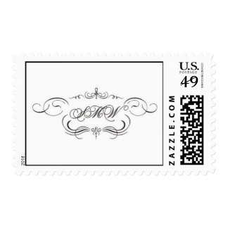 SMW monogram only Postage Stamps