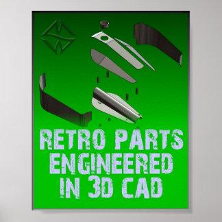 SMW Retro Parts Poster