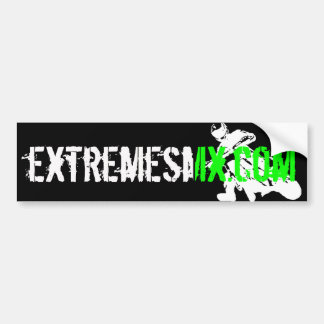 SMX Green Bumper Sticker