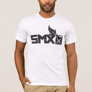 SMX Logo White T-Shirt