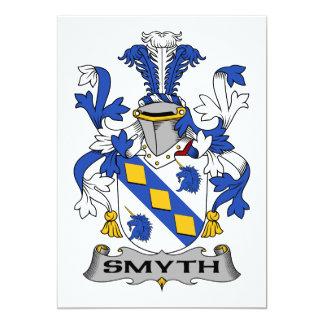 Smyth Family Crest 5x7 Paper Invitation Card