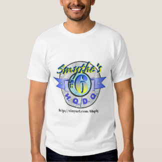 Smythe's #6 H.Q./D.Q. Logo T Shirt