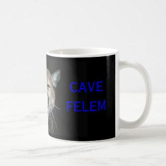 Snaarling Cougar, CAVE FELEM, Dell City Cougars Coffee Mug