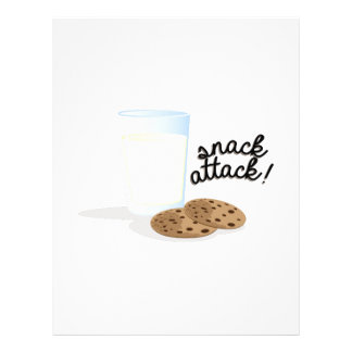 Snack Attack Customized Letterhead