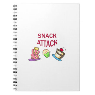 SNACK ATTACK NOTEBOOK