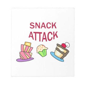 SNACK ATTACK SCRATCH PADS