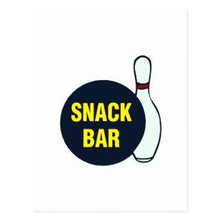 Snack Bar (Bowling) Postcard