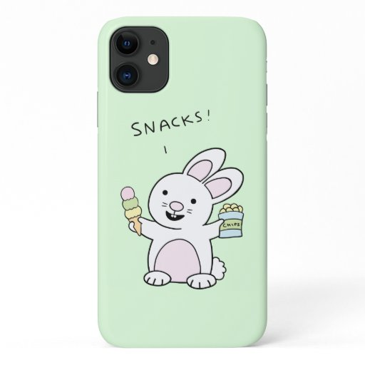 Snack Bunny Phone Case