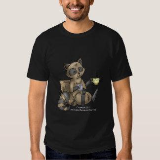 Snack-en Raccoon all style shirt