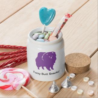 Snack Jar Candy Dish