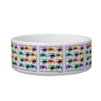 SNACK or PET BOWLS Small & Large - EYE POP ART