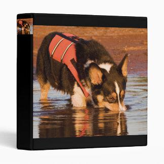 Snack Rescue Vinyl Binder