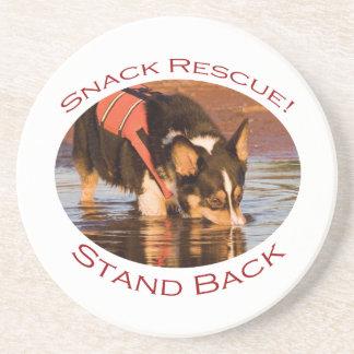 Snack Rescue!..Stand Back Coaster