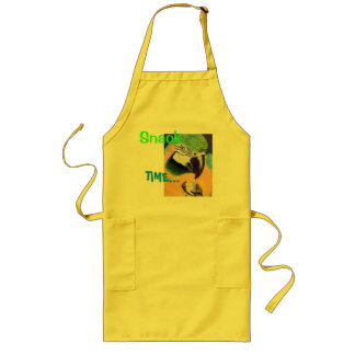 """Snack Time"" Blue & Yellow Macaw Fine Art Apron"