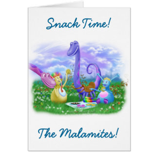 Snack Time! Card