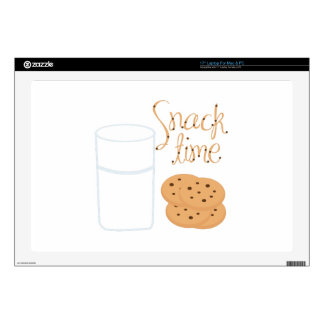 "Snack Time Decals For 17"" Laptops"