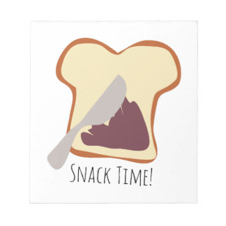 Snack Time Memo Notepads