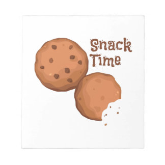 Snack Time Note Pad