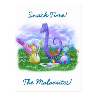 Snack Time Postcard
