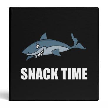Beach Themed Snack Time Shark Binder