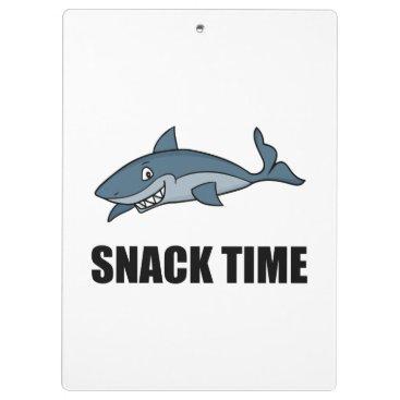 Beach Themed Snack Time Shark Clipboard