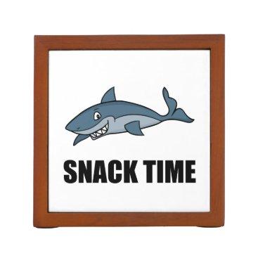 Beach Themed Snack Time Shark Pencil Holder