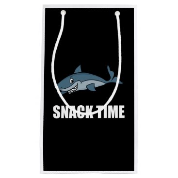 Beach Themed Snack Time Shark Small Gift Bag