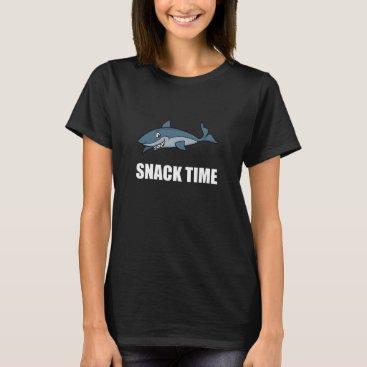 Beach Themed Snack Time Shark T-Shirt