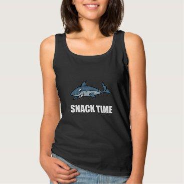 Beach Themed Snack Time Shark Tank Top