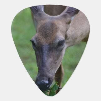 Snacking Deer Guitar Pick