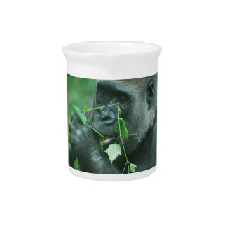 Snacking Gorilla Beverage Pitchers