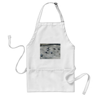 Snacking in Central Park, NYC Apron
