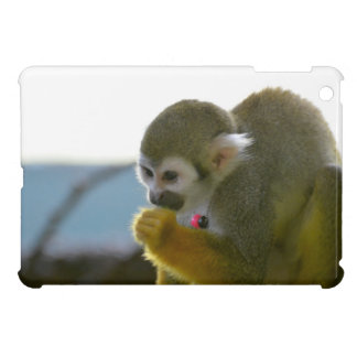 Snacking Squirrel Monkey Case For The iPad Mini