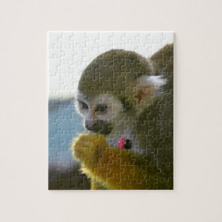 Snacking Squirrel Monkey Puzzle