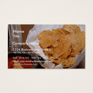 Snacks In Old Town San Diego Business Card
