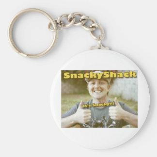 SnackyShack Stuffs Keychain