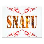 SNAFU CUSTOM INVITATION