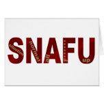 SNAFU FELICITACION
