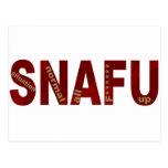 SNAFU POST CARDS